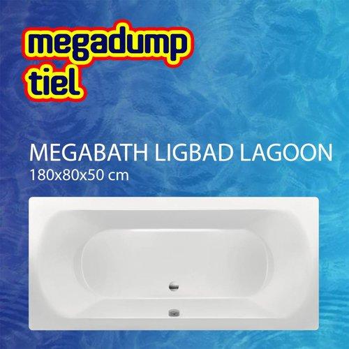 Ligbad Lagoon 180X80X50 Cm