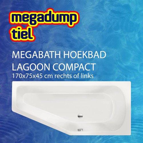 Hoekbad Lagoon Compact 170X75X45 Cm Rechts/Links