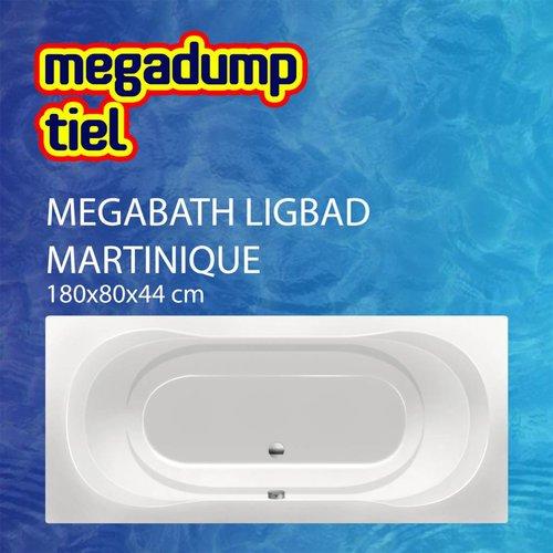 Ligbad Martinique 180X80X44 Cm