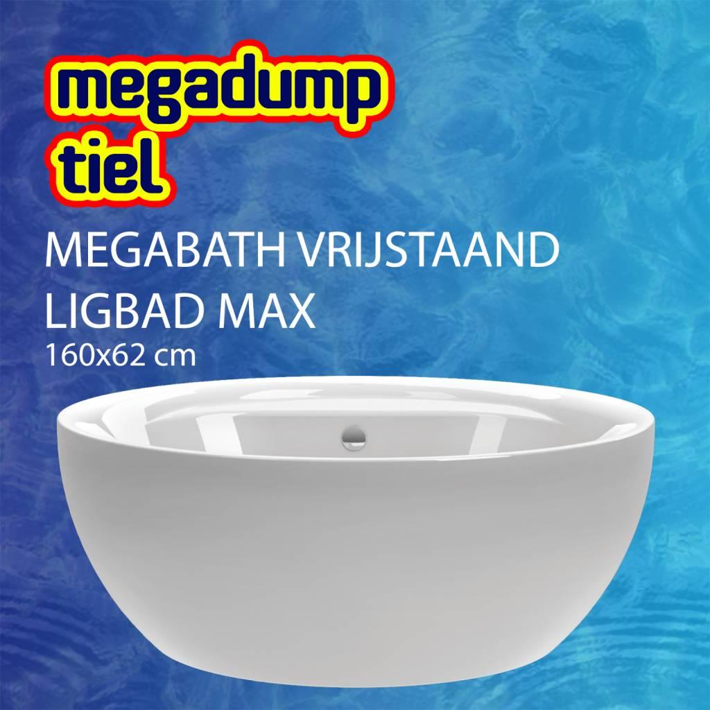 Vrijstaand Ligbad Max 160X62 Cm