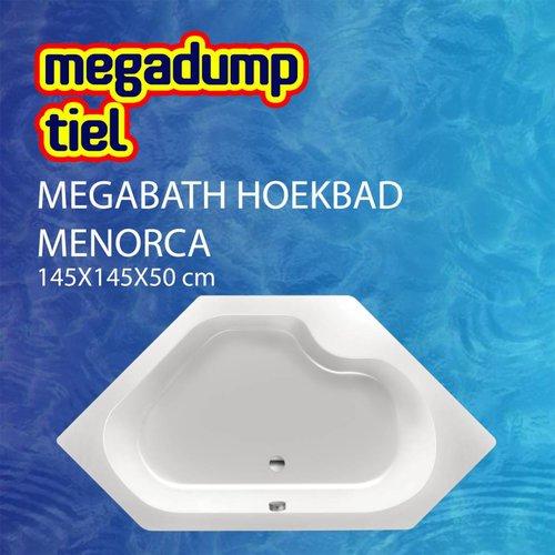 Hoekbad Menorca 145X145X50 Cm