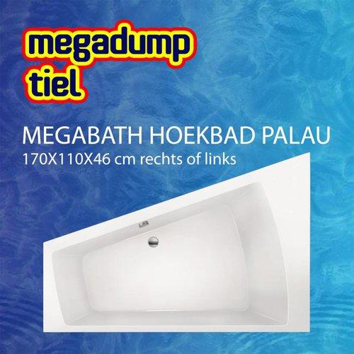 Hoekbad Palau 170X110X46 Cm Rechts/Links