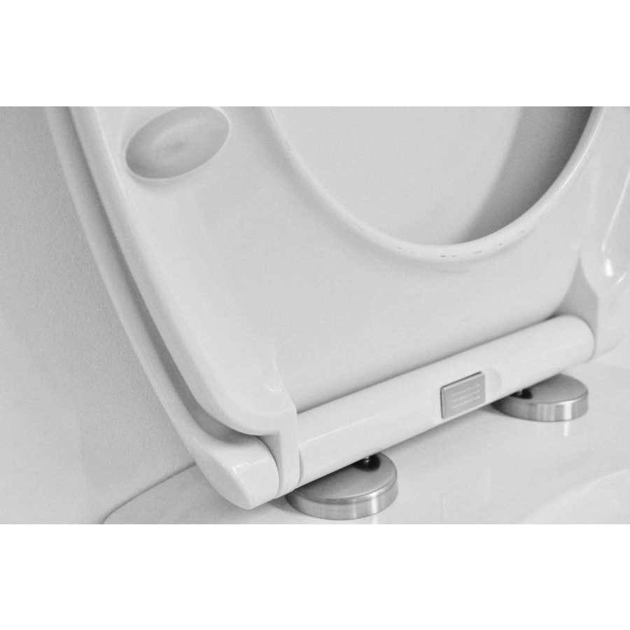 Ultimo 2.0 Soft-Close One-Touch Toiletzitting + Deksel Wit