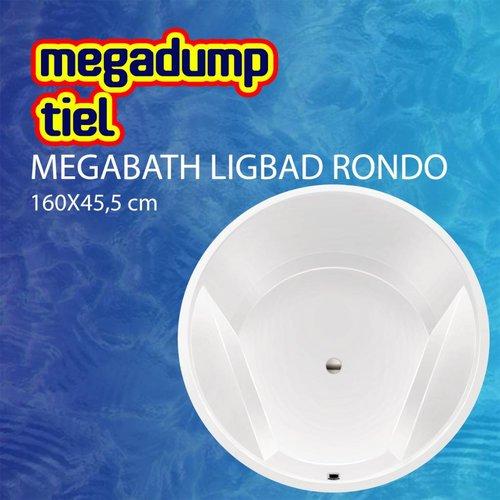 Ligbad Rondo 160X45,5 Cm