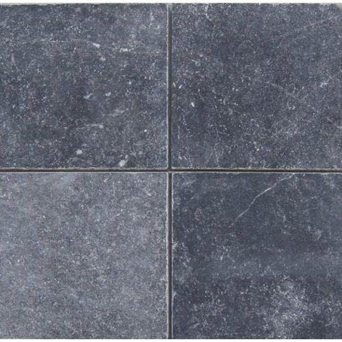 Turks Hardsteen, Antique Blue Anticato 20X20X1, Getrommeld / Verouderd P/M²