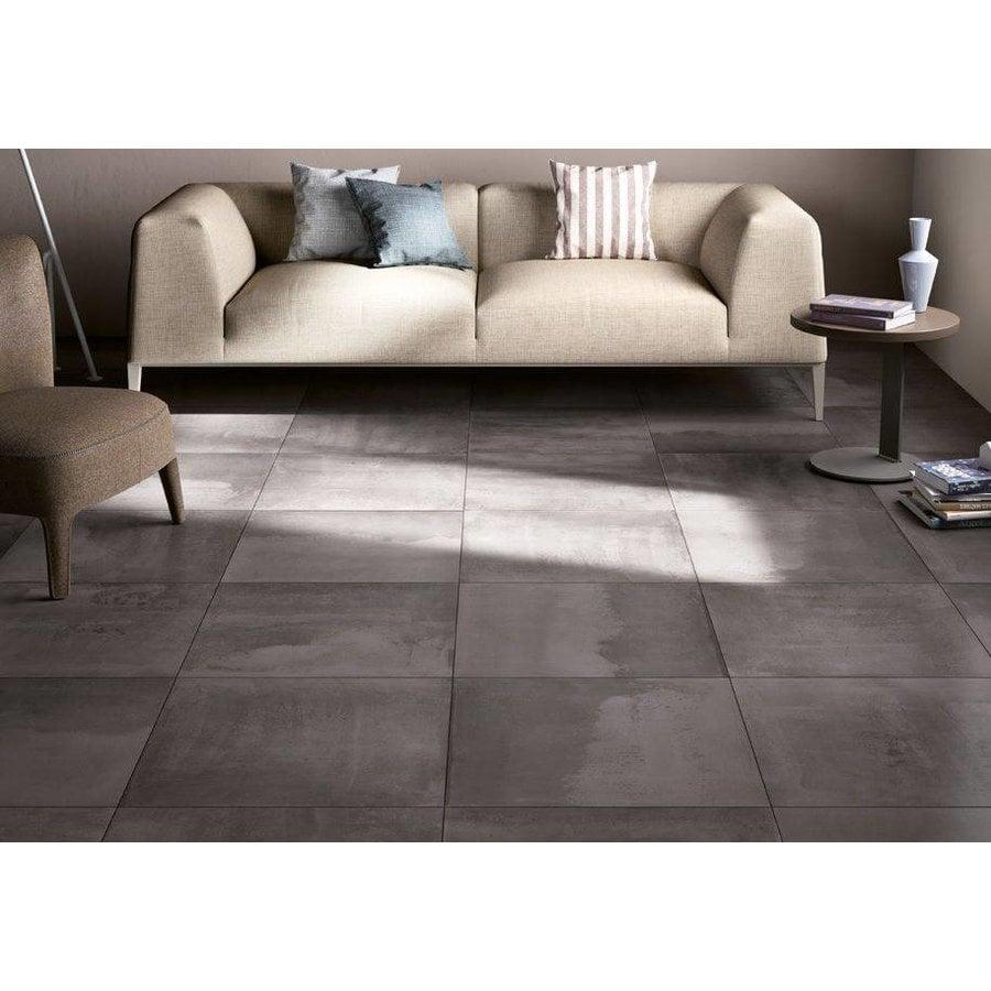 Badkamer Vloertegels 60x60.J Stone Vloertegels Concrete Antraciet 60x60 Cm Mat P M