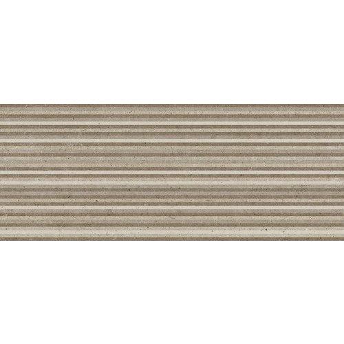 Metropoli Brown Decor Slot 20X50, Mat P/M²