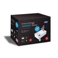 Fonteinset Wonder One Pack Rechts Klein 29X18 Cm