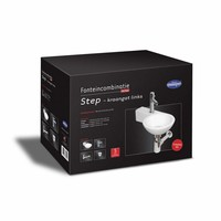 Fonteinset Step One Pack Kraangat Links Rond 38X23X9Cm