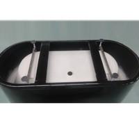 Vrijstaand Ligbad Black & White 178X80X55Cm