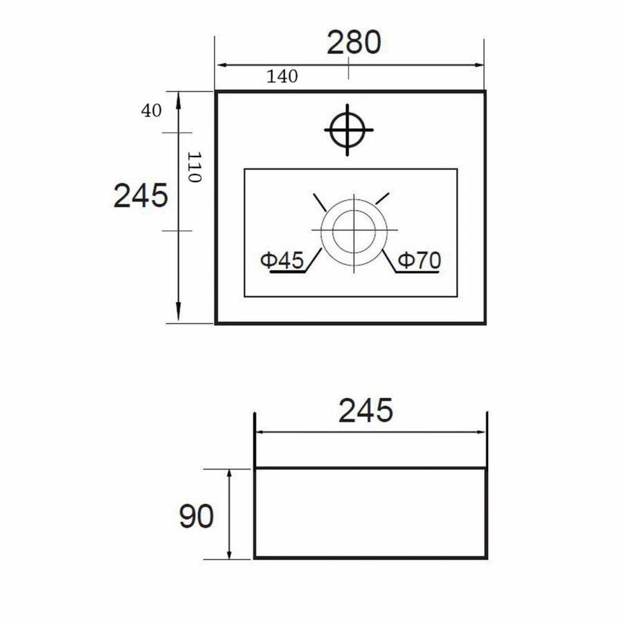 Fontein Mini Beta Compact 28X24. 5Cm