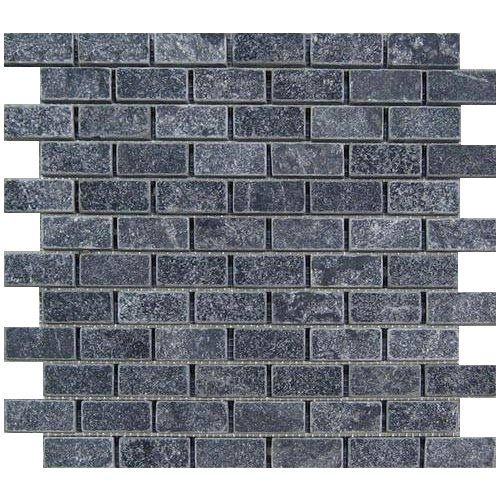 Marmer Mozaïek Karia Black 2,5X5X1 Cm P/M²