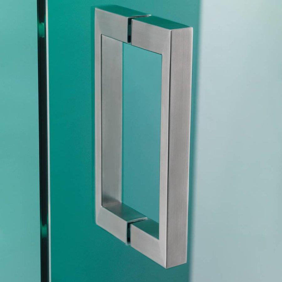 Douchecabine 'I Am' 100X100 Cm Rvs Helder Glas + Antikalk