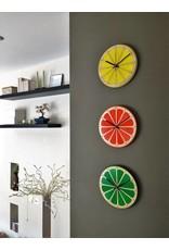 Lime Citrus Clock