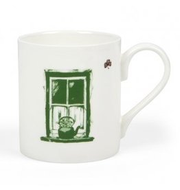Sealed with Irish Love Irish Cottage Window Mug
