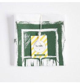 Sealed with Irish Love Irish Cottage Window Tea Towel