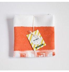 Sealed with Irish Love Irish Thatched Cottage Tea Towel