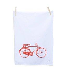 Old Irish Bicycle Tea Towel