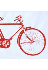 Old Irish Bicycle Tea Towel
