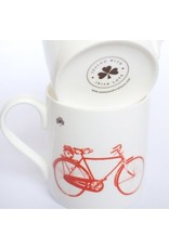 Old Irish Bicycle Mug