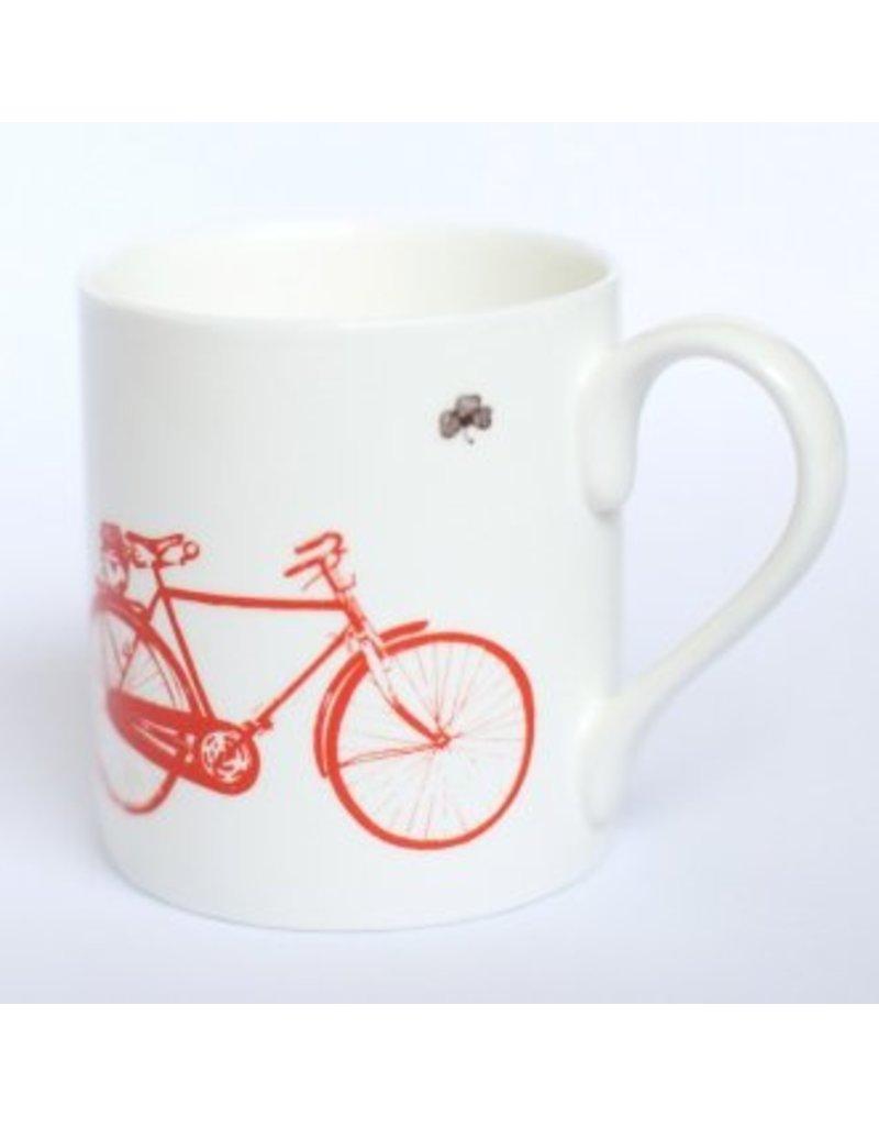 Sealed with Irish Love Old Irish Bicycle Mug