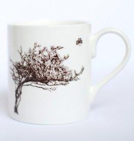 Windswept Hawthorn Tree Mug