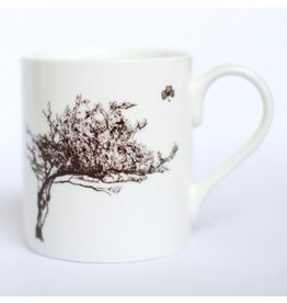 Windswept Hawthorn Tree Mug