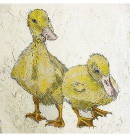 Annabel Langrish Annabel Langrish Ducklings Framed Print