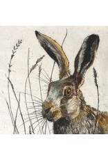 Annabel Langrish Hare Framed Print