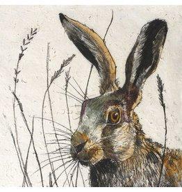 Annabel Langrish Hare Framed Print
