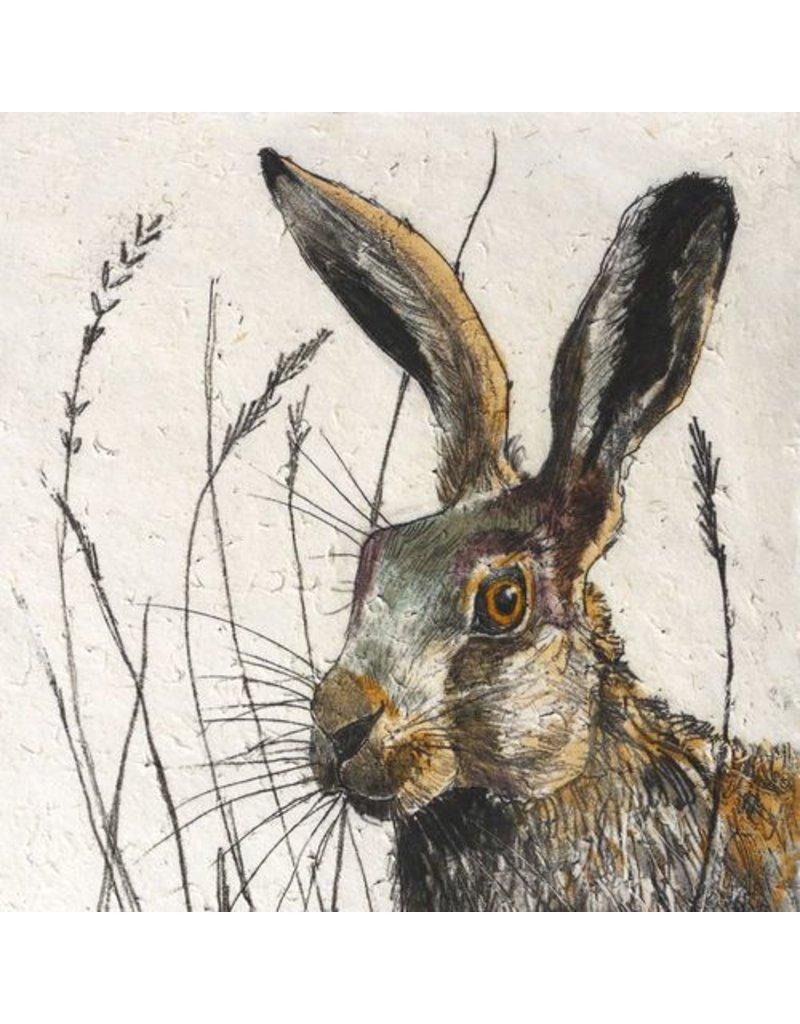 Annabel Langrish Annabel Langrish Hare Framed Print