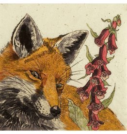 Annabel Langrish Foxy Framed Print