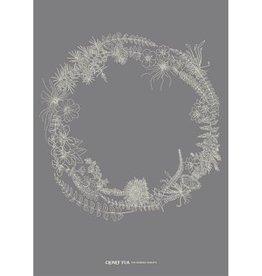 Clover Rua The Burren Wreath Print