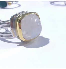 Art Deco Ring Moonstone
