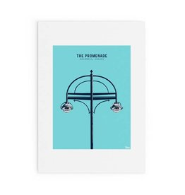 Jando Designs The Promenade Salthill A4 Print