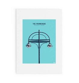 Jando Designs The Promenade, Salthill Print