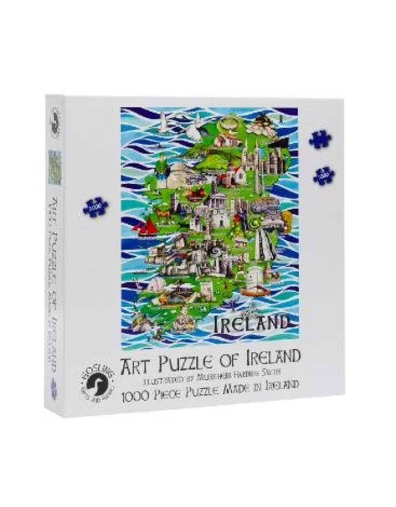 Gosling Gifts and Games Ireland Jigsaw Puzzle