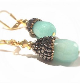 Zuhair Aquamarine Earrings