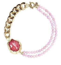 Malika Rose Necklace