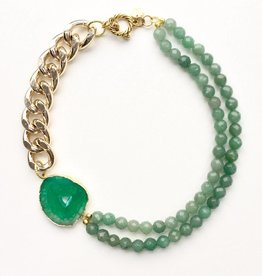 Malika Mint Necklace