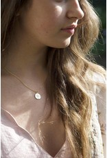 Mary k Jewellery Gold Vermeil Compass Necklace