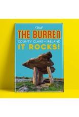 Fintan Wall Design  Visit The Burren Print A4