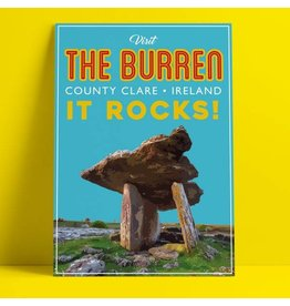 Fintan Wall Design The Burren A4 Print