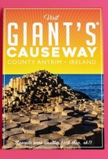 Fintan Wall Design Visit Giants Causeway A4  print