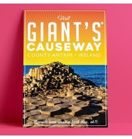 Fintan Wall Design Giants Causeway Print