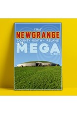 Fintan Wall Design Visit Newgrange A4 Print