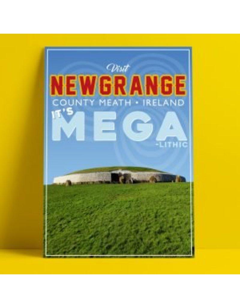 Fintan Wall Design Newgrange A4 Print
