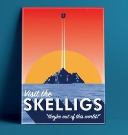 Fintan Wall Design Visit The Skelligs Print