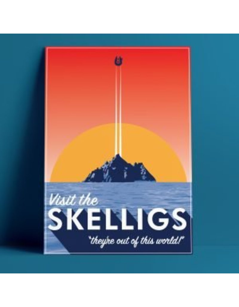Fintan Wall Design Visit The Skelligs Print A4 Print