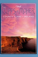 Fintan Wall Design Visit The Cliffs of Moher A4 Print